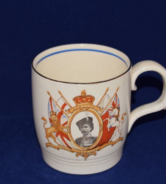 Antiques Online Elizabeth-2nd-coronation-commemorative-mug Commemorative mug for the Coronation of Queen Elizabeth 2nd