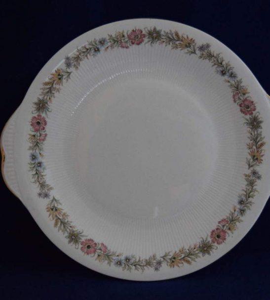 Antiques Online Paragon-Belinda-eared-cake-plate-2 Paragon Belinda eared cake plate