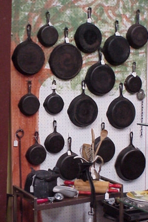 Antiques Online iron-skillets-300x450 Selling Antiques Online