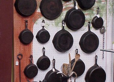 Antiques Online iron-skillets-376x270 Selling Antiques Online