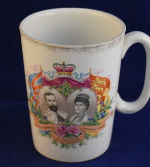 Antiques Online George-5th-and-Queen-Mary-Coronation-Commemorative-Mug-1-297x330 George 5th Coronation Mug