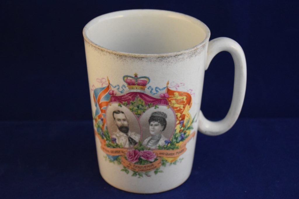 Antiques Online George-5th-and-Queen-Mary-Coronation-Commemorative-Mug-1 George 5th Coronation Mug