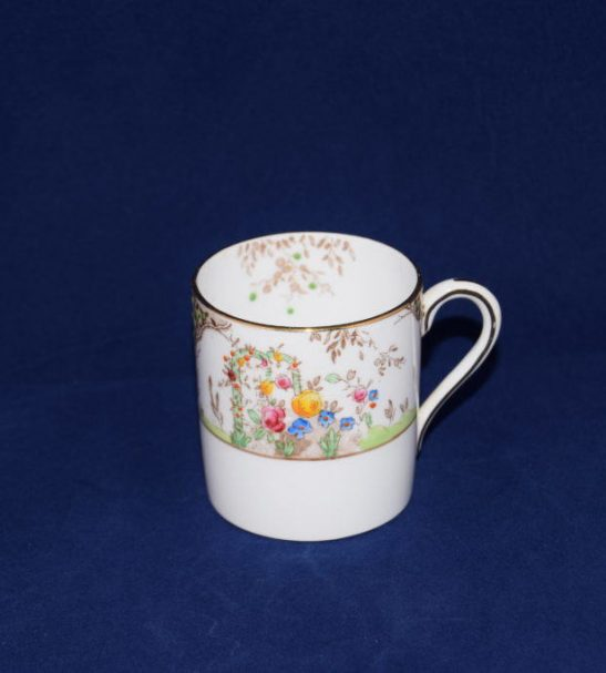 Antiques Online Grosvenor-china-coffee-cup-hand-finshed-8730-n Grosvenor China Coffee cup 8730