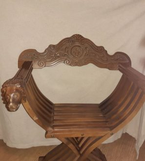 Antiques Online 20191004_193503-297x330 X style campaign Chair