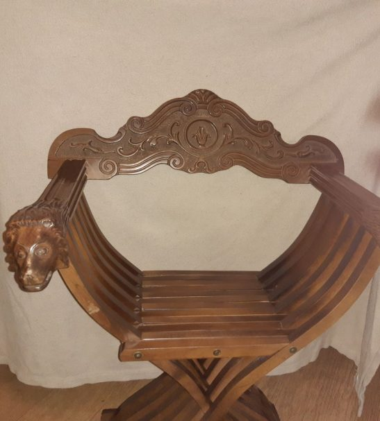 Antiques Online 20191004_193503 X style campaign Chair
