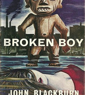 Antiques Online scan0001-297x330 Broken Boy by John Blackburn, Crime Books 1959, from the The Knockout Thriller Book Series.